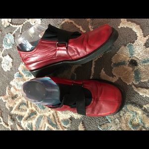 Thierry rabotin red buttery soft leather shoes
